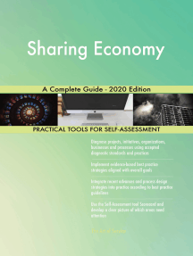 Sharing Economy A Complete Guide - 2020 Edition