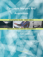 Corporate Mergers And Acquisitions A Complete Guide - 2020 Edition