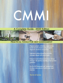 CMMI A Complete Guide - 2020 Edition