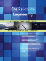 Site Reliability Engineering A Complete Guide - 2020 Edition