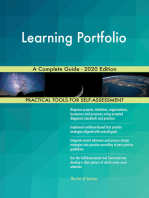 Learning Portfolio A Complete Guide - 2020 Edition