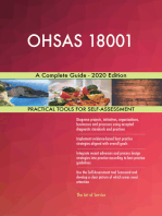 OHSAS 18001 A Complete Guide - 2020 Edition