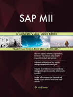 SAP MII A Complete Guide - 2020 Edition