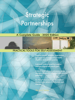 Strategic Partnerships A Complete Guide - 2020 Edition