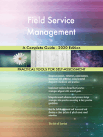 Field Service Management A Complete Guide - 2020 Edition