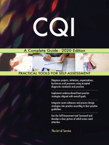 CQI A Complete Guide - 2020 Edition
