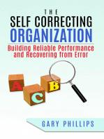 The Self Correcting Organization