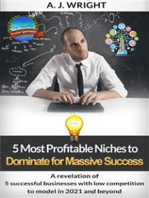 5 Most Profitable Niches to Dominate for Massive Success: A revelation of 5 successful businesses with low competition to model in 2021 and beyond