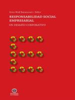 Responsabilidad Social Empresarial: Un desafío corporativo