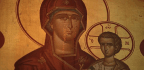 Faithful See Miracle In Weeping Icon Of Mary With Child Jesus At Greek Orthodox Church In Chicago