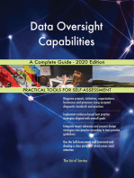 Data Oversight Capabilities A Complete Guide - 2020 Edition