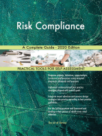 Risk Compliance A Complete Guide - 2020 Edition