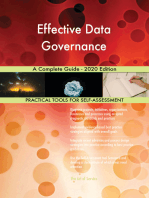 Effective Data Governance A Complete Guide - 2020 Edition