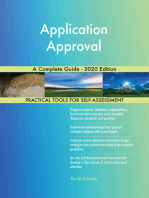 Application Approval A Complete Guide - 2020 Edition
