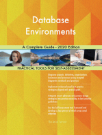 Database Environments A Complete Guide - 2020 Edition
