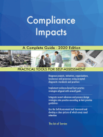 Compliance Impacts A Complete Guide - 2020 Edition