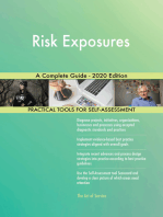 Risk Exposures A Complete Guide - 2020 Edition