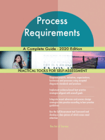 Process Requirements A Complete Guide - 2020 Edition
