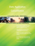 Data Application Consolidation A Complete Guide - 2020 Edition