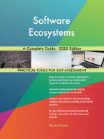Software Ecosystems A Complete Guide - 2020 Edition