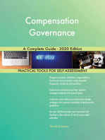Compensation Governance A Complete Guide - 2020 Edition