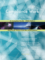 Compliance Work A Complete Guide - 2020 Edition
