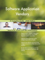 Software Application Vendors A Complete Guide - 2020 Edition