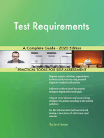 Test Requirements A Complete Guide - 2020 Edition