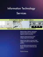 Information Technology Services A Complete Guide - 2020 Edition