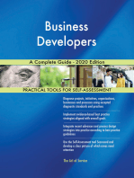 Business Developers A Complete Guide - 2020 Edition