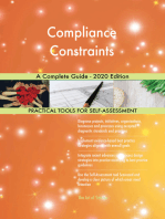 Compliance Constraints A Complete Guide - 2020 Edition