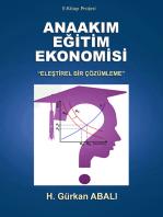 """Anaakım Eğitim Ekonomisi: """"Eleştirel Bir Çözümleme"""""""