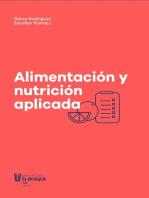 Alimentación y nutrición aplicada