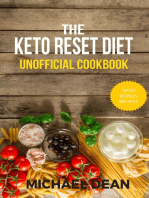 The Keto Reset Diet Unofficial Cookbook
