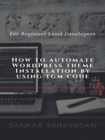 How to Automate WordPress Theme Installation by using TGM Code