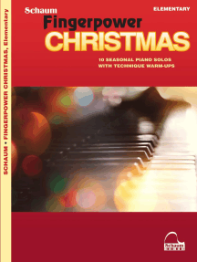 Fingerpower® Christmas: 10 Seasonal Piano Solos with Technique Warm-Ups Elementary Level