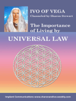 Ivo on the Importance of Living by Universal Law