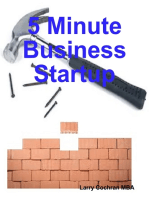 5 Minute Business Startup