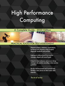 High Performance Computing A Complete Guide - 2020 Edition