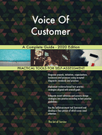 Voice Of Customer A Complete Guide - 2020 Edition
