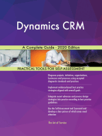 Dynamics CRM A Complete Guide - 2020 Edition