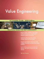 Value Engineering A Complete Guide - 2020 Edition