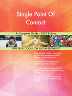 Single Point Of Contact A Complete Guide - 2020 Edition