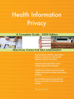 Health Information Privacy A Complete Guide - 2020 Edition