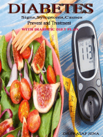 Diabetes Signs,Symptoms,Causes,Prevent and Treatment With Diabetic Diet Plan