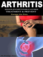 Arthritis Signs,Symptoms,Causes,Prevent and Treatment