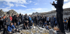 Hundreds Attend Funeral For Pizol, A Disappearing Glacier