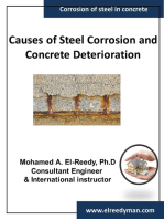 Causes of Corrosion and Concrete Deterioration