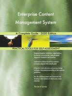 Enterprise Content Management System A Complete Guide - 2020 Edition