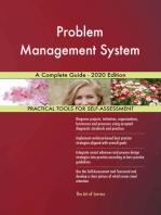Problem Management System A Complete Guide - 2020 Edition